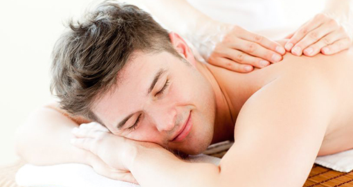 Male Grooming Body Massage Treatment