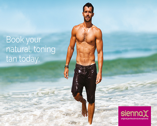 Male Grooming Spray Tan Sienna X Treatment