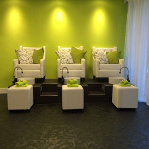 Studio 8 Beauty Salon Pedi Spa area