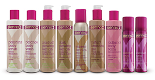 Sienna X Tanning Products