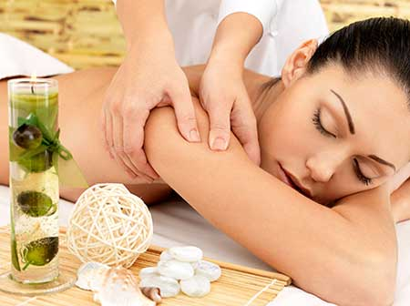 Pamper Party Massage Treatment