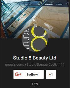 studio 8 on Google My Business