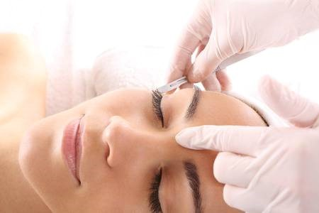 A dermaplaning Treatment