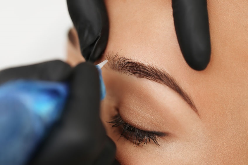 Microblading Client
